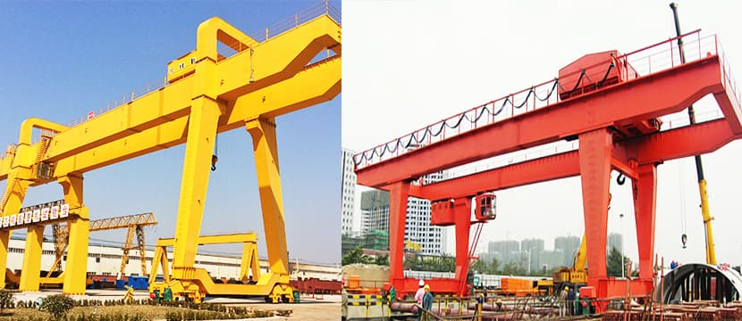A Shaped Double Girder Gantry Cranex