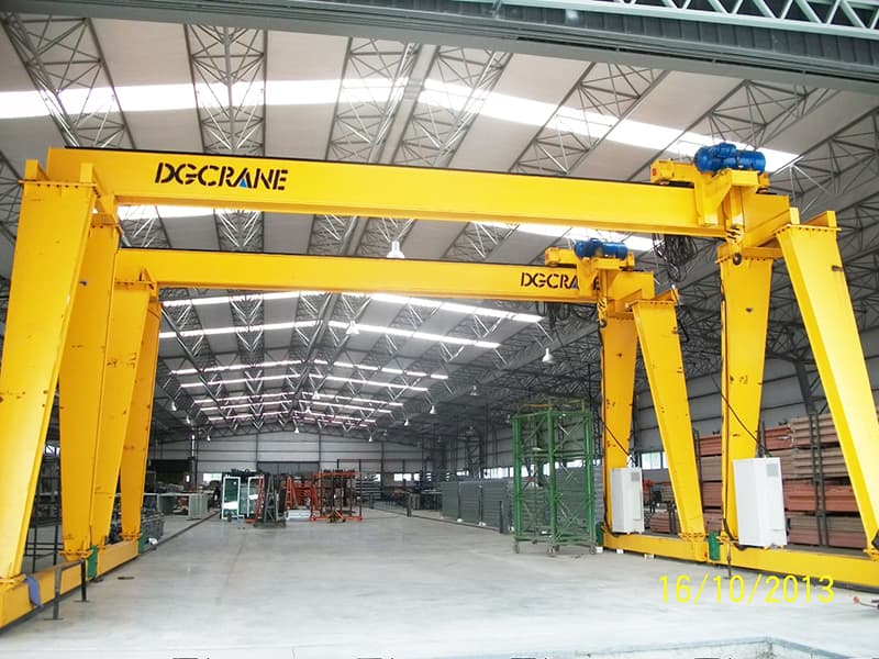 Features Of Single Girder Gantry Crane2