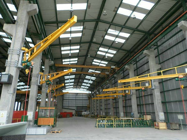 sets of ton wall jib cranes in Peru