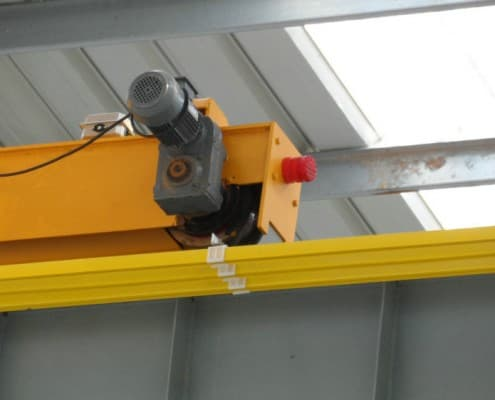 single girder EOT crane driving unit