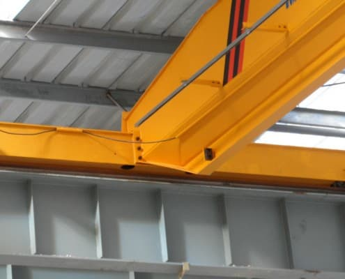 single girder EOT crane end truck