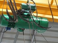single girder EOT crane hoist