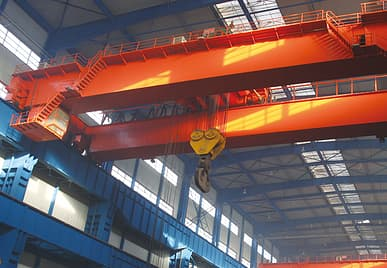 Top Running Double Girder Eot Cranes