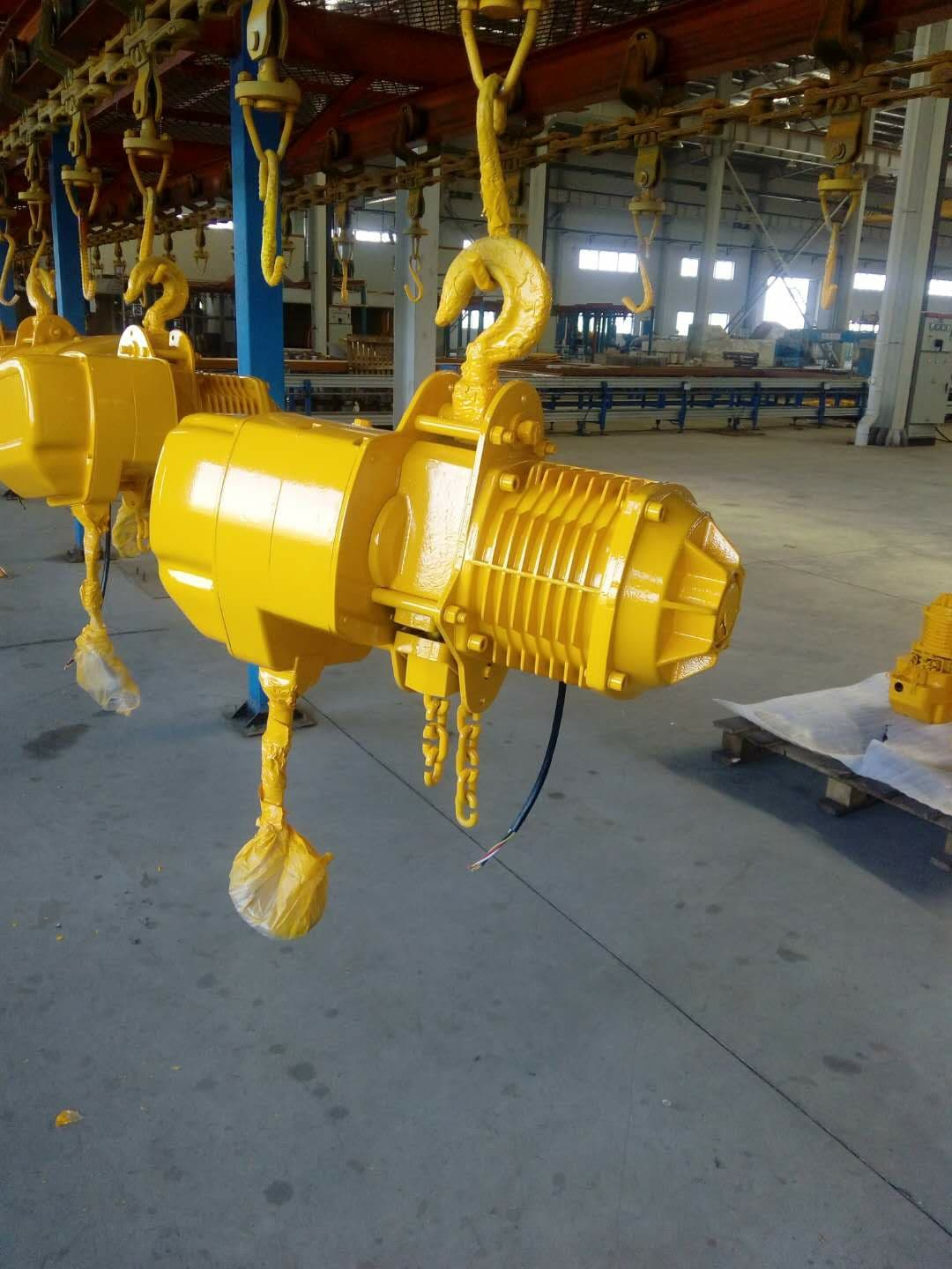 T Electric chain hoist