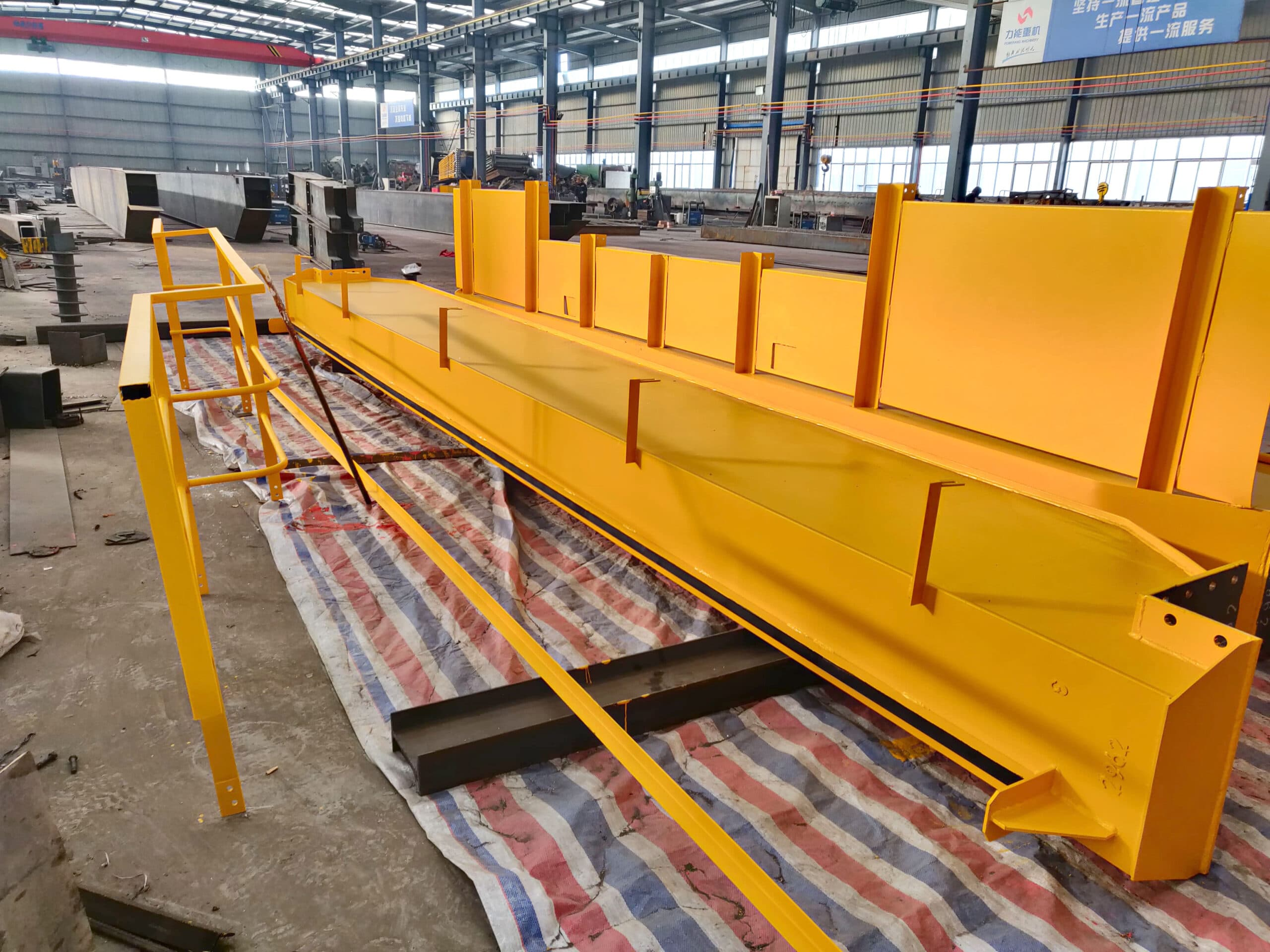 LHt overhead crane delivery to Peru scaled