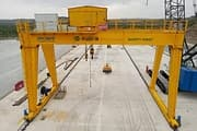 Installation PhotoT Double girder Gantry crane Installed in Kenya