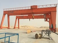 MGt gantry crane finished installation